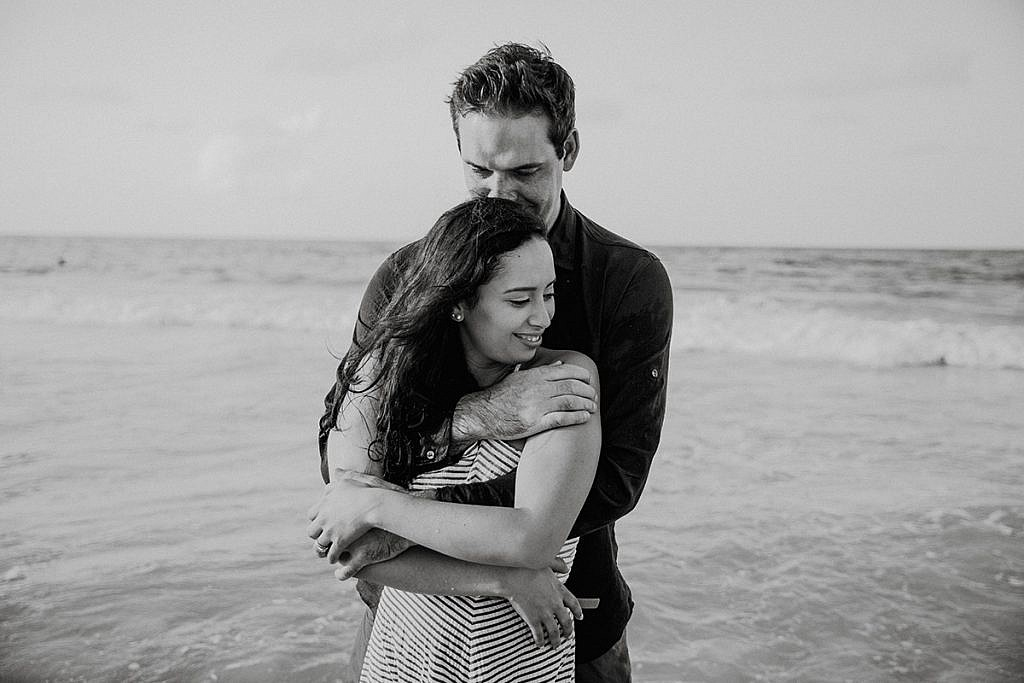 punta cana engagement session