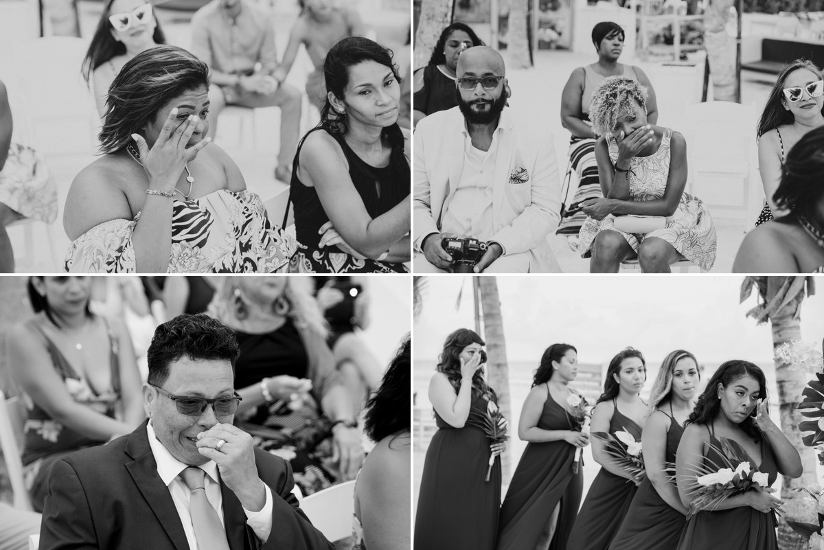 emotional huracan wedding