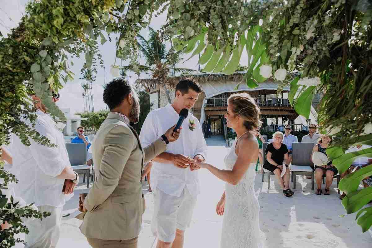 punta cana boho wedding
