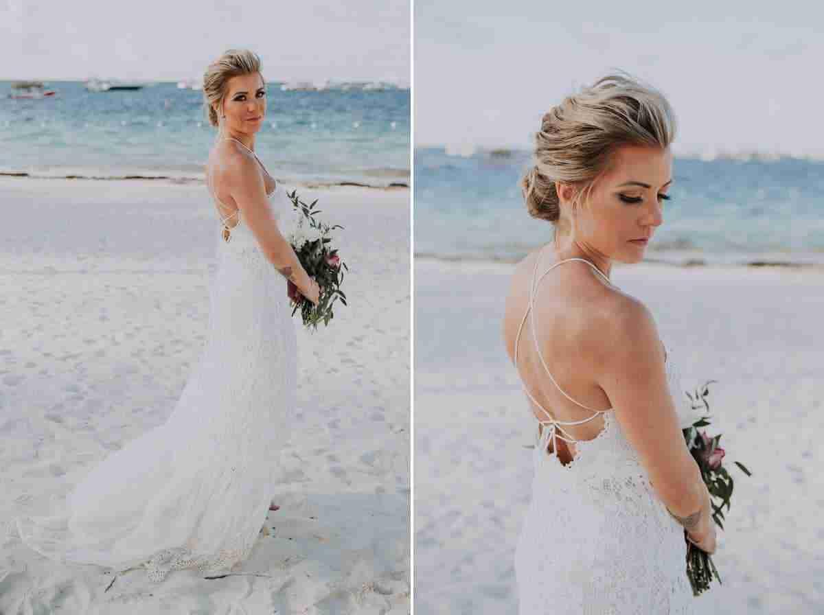 punta cana boho beach wedding
