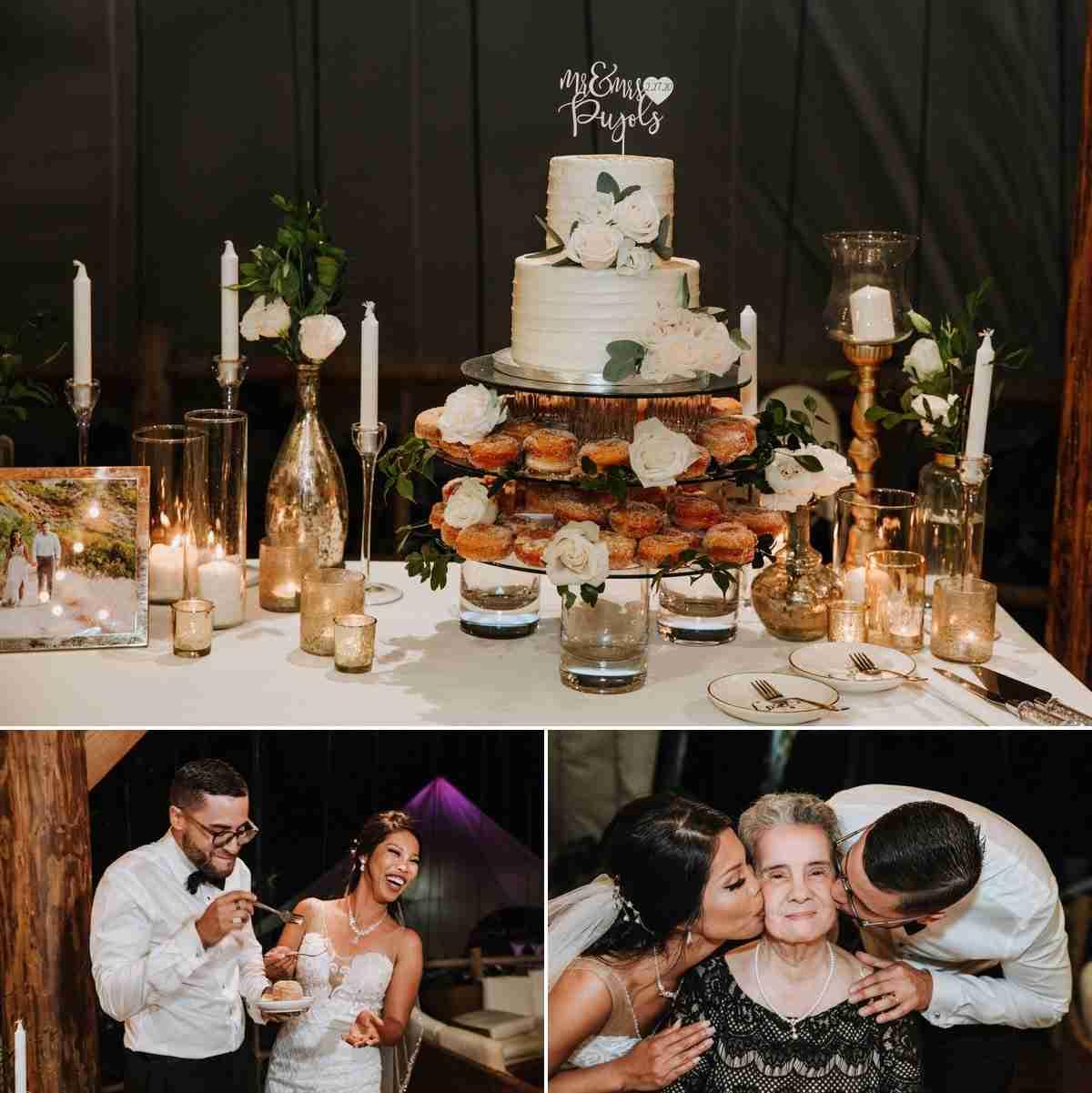punta cana wedding cake