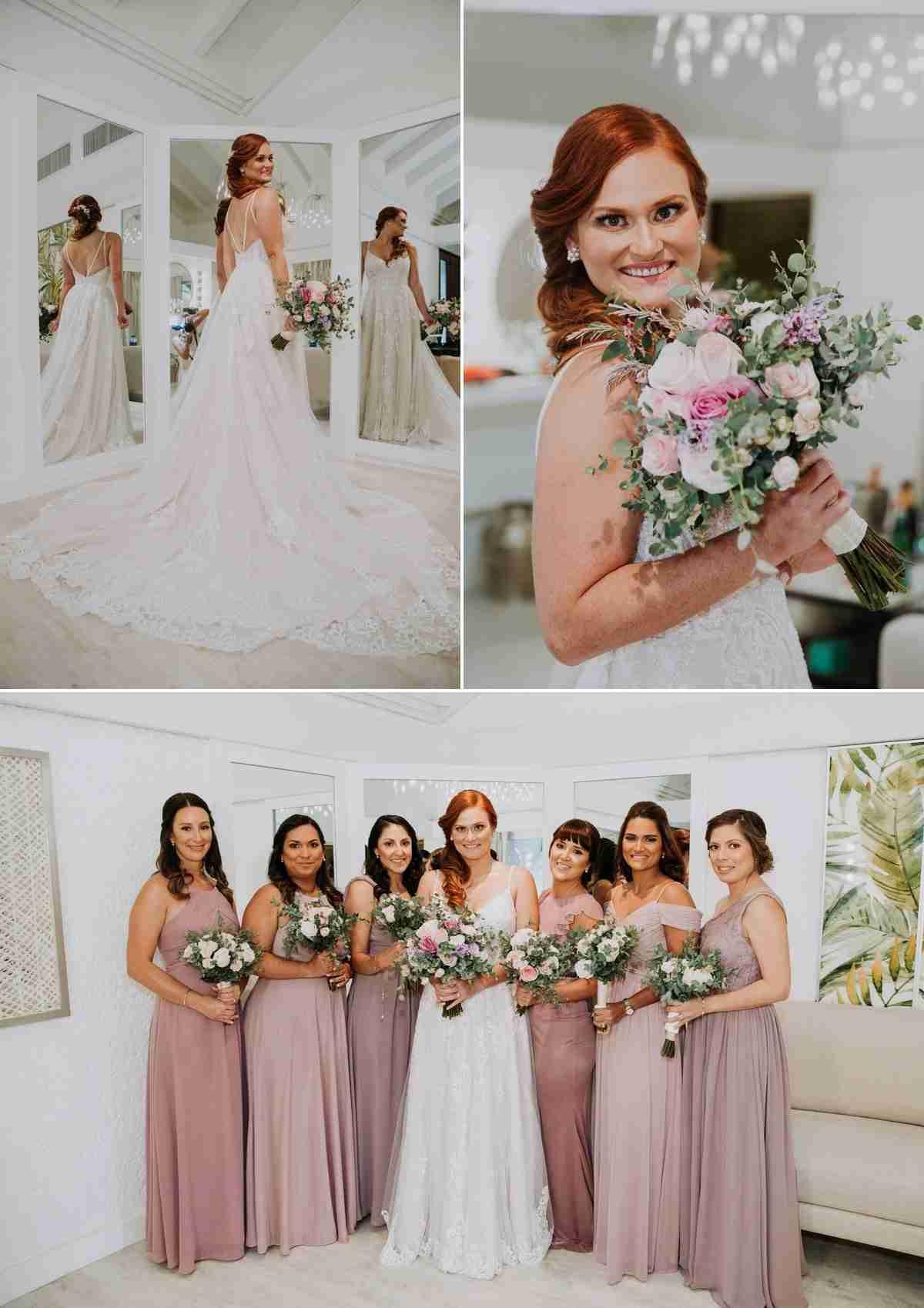 Altos de Chavon bridesmaids