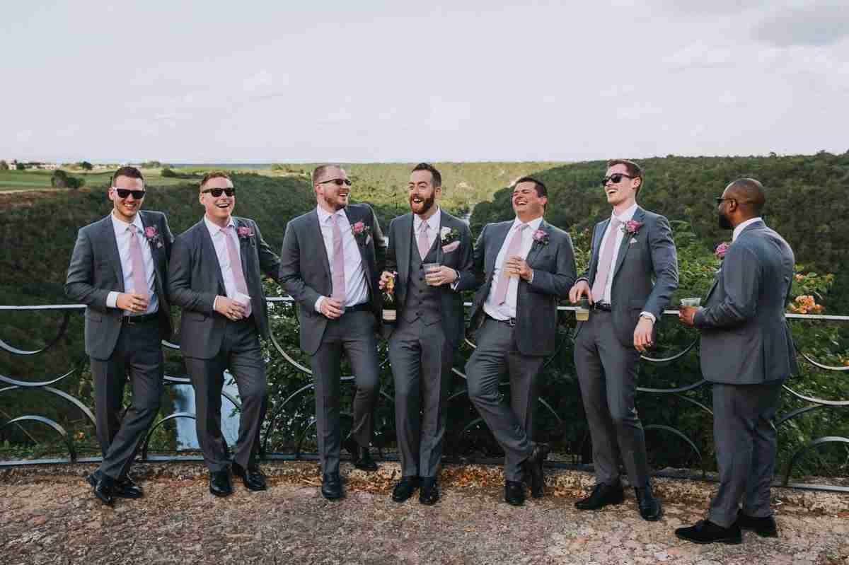 punta cana wedding party attire