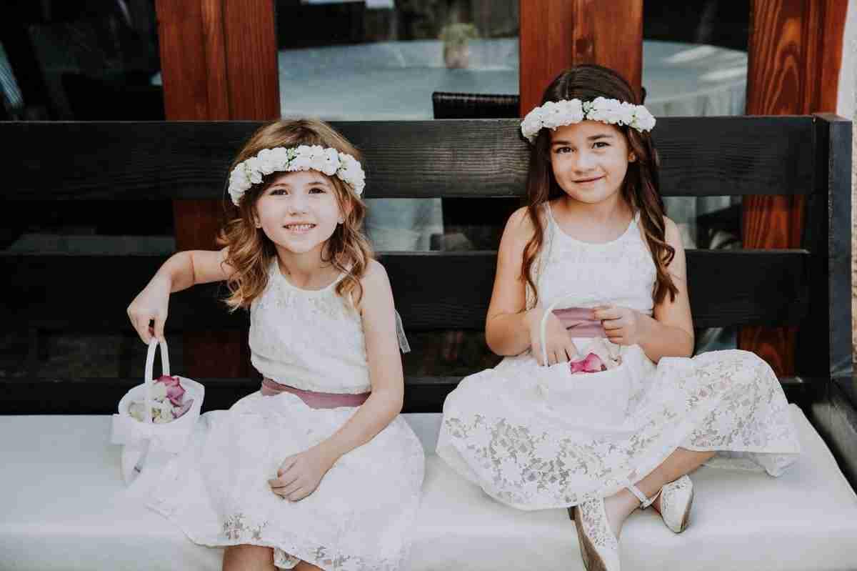 punta cana flower girls