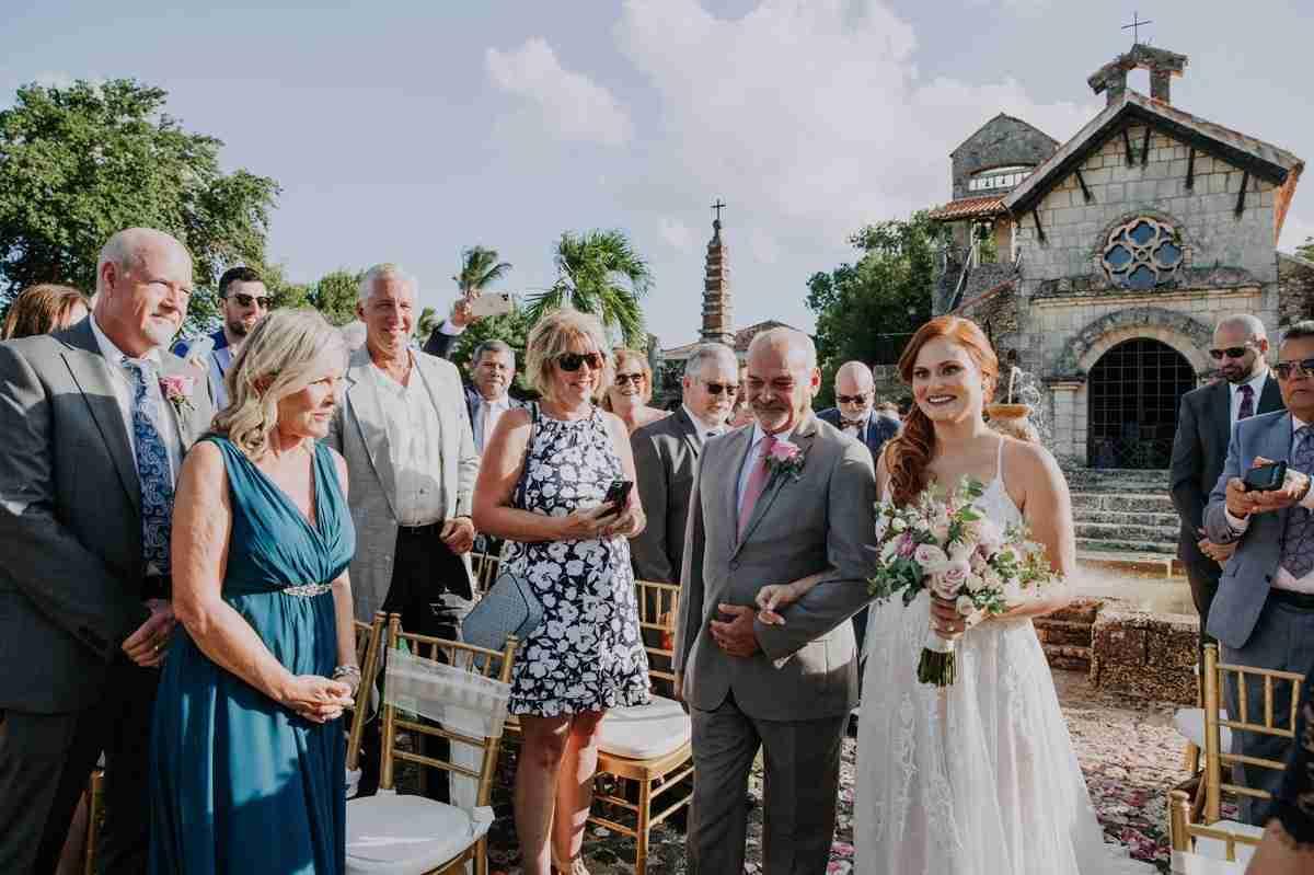 Altos de Chavon Wedding ceremony