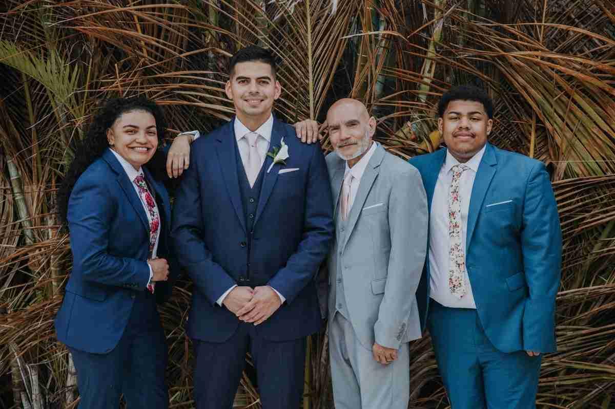 punta cana wedding groomen attire