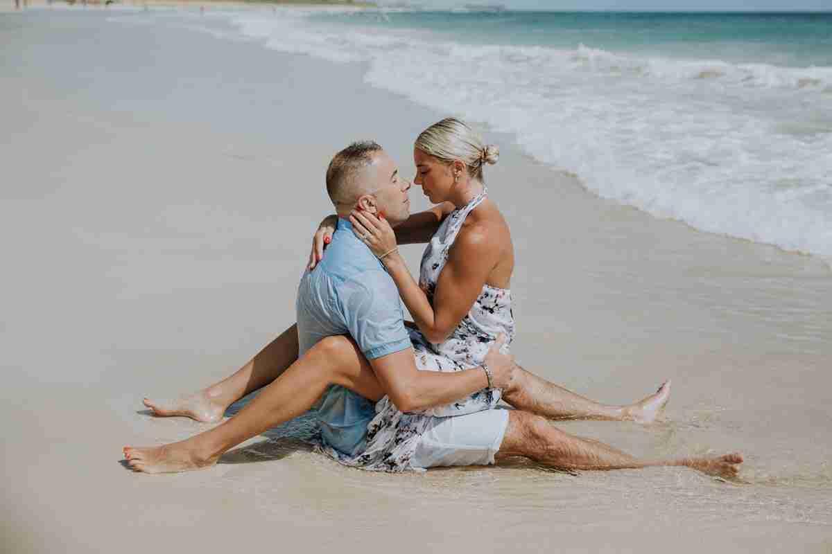punta cana beach photo shoot
